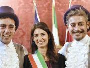 Rome mayor celebrates first same-sex civil union in city