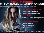 Acting drama classes in english