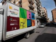 Return of bulky waste collection service in Rome