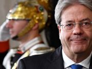 Paolo Gentiloni sworn in as Italy's new prime minister