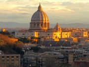 Panoramic flat near Vatican