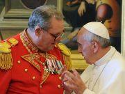 Knights of Malta head quits over Vatican condom row