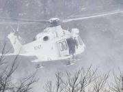 Emergency helicopter crashes near L'Aquila