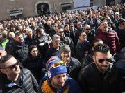 Rome taxi strike intensifies
