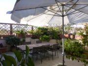 Top Floor 2-bedroom Attico w/terrace in Monteverde Vecchio
