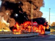 Rome's buses catch fire