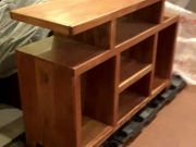 Selling teak bookcase and coffee table.