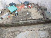 Roman aqueduct found during Rome's Metro C works