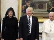 Trump meets Pope Francis