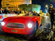 Rome welcomes vintage car rally