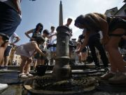 Rome considers turning off drinking fountains