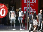 Rome's summer sales start on 1 July