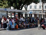 Rome public transport strike on Monday 26 June