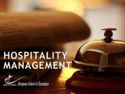 ESE Short course HOSPITALITY MANAGEMENT,  Sept intake 2017