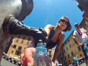 Rome begins turning off drinking fountains