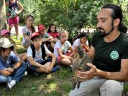 Summer camp at Rome's Bioparco