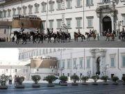 Anti-terrorism measures at Rome's Quirinal Palace