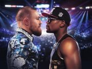 McGregor vs Mayweather fight screened in Rome