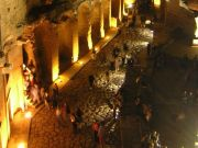 Classical music by night in Trajan's Markets