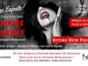 31 Oct - Rome Expats Vampire Aperitif l Biting New People