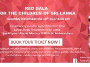 Red Gala for the Children of Sri Lanka