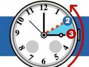 Clocks go back on 29 October