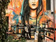 New Alice Pasquini mural in Rome