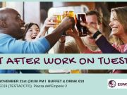 Tues 21 Nov - Rome Expats Flirt After work on Tuesday Aperitif (TESTACCIO)