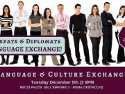 Dic 5 - Rome Expats & Diplomats Language & Culture Exchange