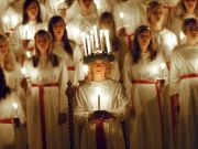 Sweden's S. Lucia choir in Rome