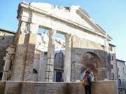 Rome's Portico d'Ottavia