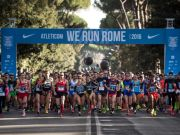 We Run Rome marathon on New Year's Eve