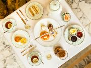 English afternoon tea at Rome's Hotel Eden