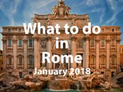 January 2018 events in Rome