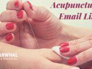 Acupuncturist Email List