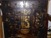 Ancient Oriental little chest with drawers XIX Century