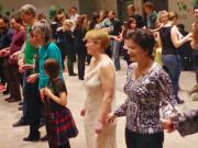 Irish céilí dancing in Rome