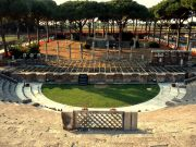Jeff Beck concert in Rome's Ostia Antica