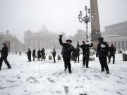 Rome schools closed for a second day over snow