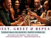 13 Mar - Rome Expats & Diplomats: Meet, Greet & Repeat Aperitif