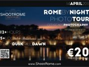 Rome by Night Photo Tour by ShootRome