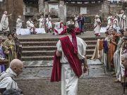 Rome re-enacts Caesar's assassination