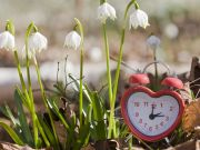 Clocks spring forward on 25 March
