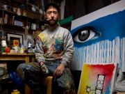 British street artists in Rome for Forgotten Project