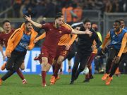AS Roma secure historic victory in Rome