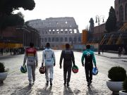 Formula E car race arrives in Rome