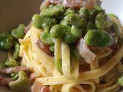 Wanted in Rome recipe: Pasta con fave, guanciale e pecorino