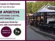 19 Jun - Rome Expats & Diplomats River Aperitivo (Lungotevere)
