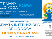 International YOGA DAY- 21/06/2018: Programme of celebrations  (17-29 June)