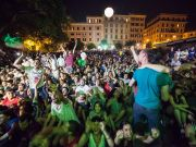 Cinema festival returns to Piazza S. Cosimato
